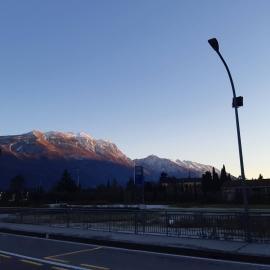 #tramonto #montebaldo #altissimo #Rivadelgarda  #labusa #gardalake #elitesport