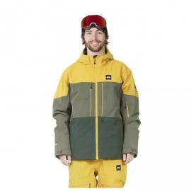 VISITA elitesportriva.it  La giacca Object JKT PICTURE unisce la tecnicità dei materiali con l'inconfondibile stile colorato e divertente di Picture, sempre con un occhio di riguardo per la sostenibilità e l'ambiente. https://elitesportriva.it/home/88-377-giacca-snow-picture-object-jkt.html#/2-taglia-m/16-colore-giallo  La giacca Object JKT è ormai da anni un must della collezione Snow di Picture.  Composta per il 64% di poliestere riciclato e con un rivestimento al Teflon EcoliteTM PFC Free, questa giacca garantisce un'impermeabilità pari a 20k mm e una traspirabilità di 15k mm.  Garantisce alta termicità grazie all'imbottitura isolante 60gr Thermal STD nella parte del busto e incorpora il Thermal Dry System per assorbire e asciugare il sudore nei punti più critici.  Inoltre, le cuciture termo-sigillate e le cerniere YKK impermeabili garantiscono massima protezione da acqua e vento.  Per renderla comoda ed ergonomica, i polsini, il cappuccio e la ghetta interna agganciabile ai pantaloni sono regolabili. La giacca è anche dotata di tasca porta skipass.  Disponibile in 3 varianti colore.